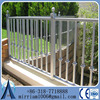 hot sale high quality galvanized welded fence, post fence, models wrought iron fence