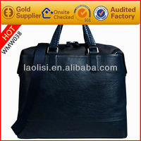 new trend hot sale men's leather tote handbag
