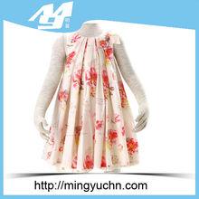 2014 poco de algodón niñas vestidos de concurso de china