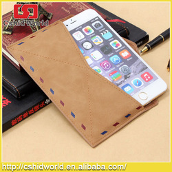 for Apple Iphone6&plus Envelope Style Case Cover Bag, Retro Genuine Handmade Leather Case Cover Bag