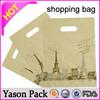 Yasonpack cheap shopping bags foldable cart shopping bag papper shopping bag
