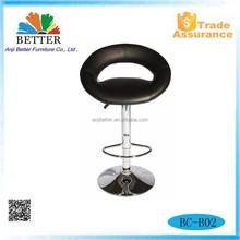 commercial adjustable bar stool,rubber ring bar stool