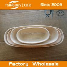 Alti vendita calda qualità 100% handmade puro banneton/pane impermeabilizzazione basket prezzo e paglia cestino del pane
