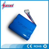 3S1P 11.1V 2200mAh recharge li-ion rechargeable 18650 battery pack