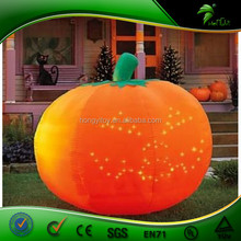 Top Class customized Inflatable Pumpkin shape led Balloon lighting for Halloween Decoration