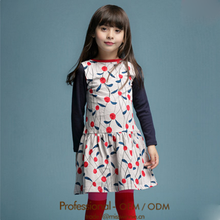 latest designed puffy girl dress