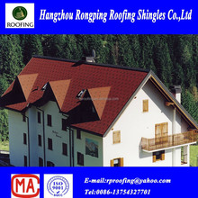 [Factory direct roofing shingles] round asphalt shingles roof