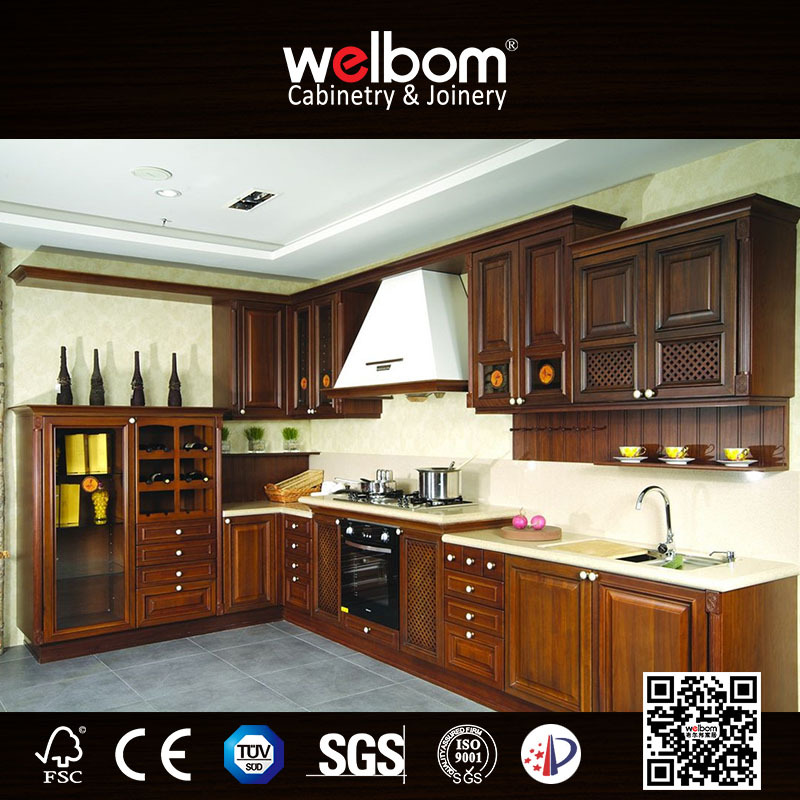 New arriving full set wooden kitchen cabinet door designs for Full set kitchen