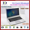 "Newest 13.3"" ultrabook i5-4200u netbook laptop with 4GB RAM +1T HDD 1920*1080,Metal case, 6600mAh with laptop bag"