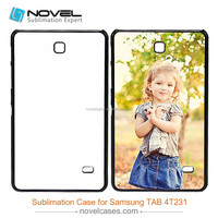 Latest 2D Sublimation Plastic Tablet Cover for Samsung Galaxy Tab4-T231, Sublimation Blanks