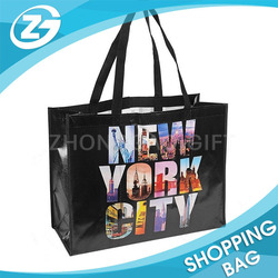 China Factory OEM Logo Wholesale Recycled Personalized Colorful Matte Glossy Eco BOPP Laminated Customized PP Woven Shopping Bag