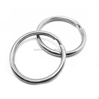 Manufacture High Quality Metal Different Type of Split Key Ring