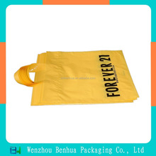 Custom printed plastic shopping bags