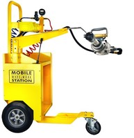 tire repair wagon for rubber tires & Tire repair cabinet