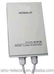 With perfect lightning protection VDSL2 amplifier which is installed on the loop between VDSL2 DSLAM and the user's modem