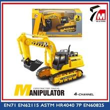 Navvy rc camion/rc escavatore in vendita mini auto giocattolo di plastica