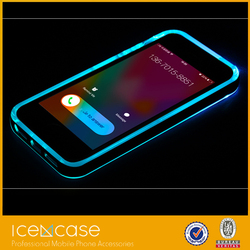 Calling flashing plastic case led light phone case for iphone 6 for iphone 6 plus