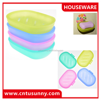 wholesale plastic wall soap dish holder for bathroom accessories
