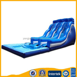 Yangjuan good quality big water slide inflatable