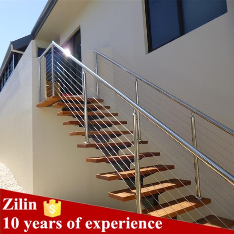 High quality balcony tension wire mesh deck railing design