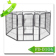Safety and Secure Metal Pet Dog Playpen Iron Fence Dog Kennel
