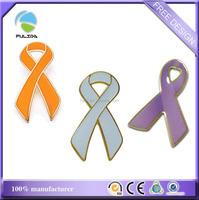 custom ribbon colors metal enamel resin epoxy gold souvenir lapel pins