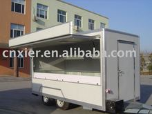fast food van for sale with different colors mobile catering van mall food kiosk
