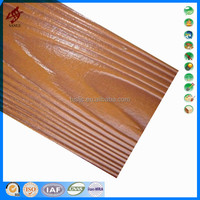 fiber cement wood wool acoustic panel
