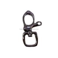 Fashion High Quality Metal Gunmetal Swivel Locked Handbag Hardware Clasp