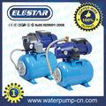 Presurizador con Bomba y Tanque de Presión de 19 litros para 3.5 baños (Tanque de presión para la bomba de agua limpia ELESTAR)
