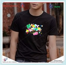 expect your new design!music activated led lighting t shirt for disco / KTV