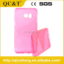 Factory Supply Attractive U Style Tpu Soft Case For Samsung S6 Edge Plus G928