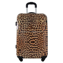 "seside pattern ABS printed hard luggage bag 28"" spinner luggage"