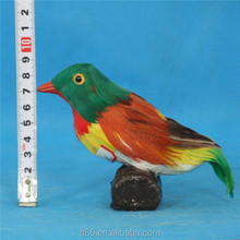 realistic bird artificial colour feather birds with quail sounds