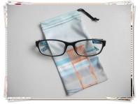 custom logo printed microfiber sunglasses pouch , soft eyeglasses pouch