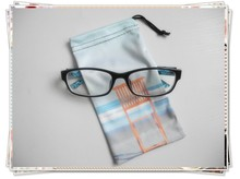 custom logo printed microfiber sunglasses pouch , soft glasses pouch