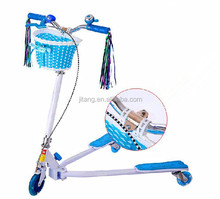 PU Flash Wheel kid pedal kick scooter swing scooter with High Quality MH-W02