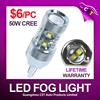 2% Paypal fee only! lifetime warranty T20 S25 H4 H7 HB3 HB4 H27 H13 50W tuning light , led fog light, led fog lamp