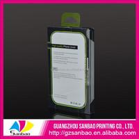 clear waterproof box crystal box packaging cellphone case packaging