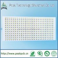 led Aluminum pwb assembly smd pcb manufacturer (shenzhen)