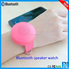 new products 2015 technology bluetooth speaker watch shape