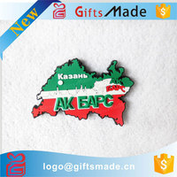 small quantity Canada letters with map flag soft pvc rubber fridge magnet with letters