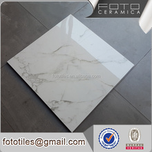 Factory Direct Glazed polished marble flooring tile , cheap marble tile