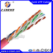 Cross Over Cat6 Cable Fast Speed 23AWG Solid Conductor