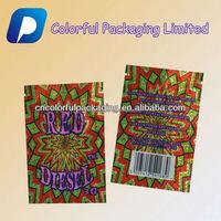 3g Red Diesel potpourri bag/herbal incense bag