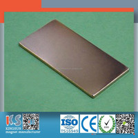 High Performance Sintered Rare Earth Strong Thin N42 Neodymium Block Magnets 50X25X1.5MM