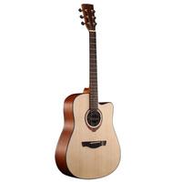 wooden excel guitar