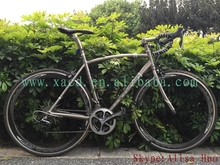 2015 new design!!! titanium road bike frame for 700c wheel size