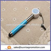 lollipop forma de metal de marca nuevo diseño de la pluma stylus para el iphone 6
