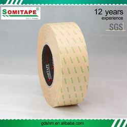 SOMI TAPE SH329 Double Sided Tissue Tape/Adhesive Double Sided Tape for Advertisment Use